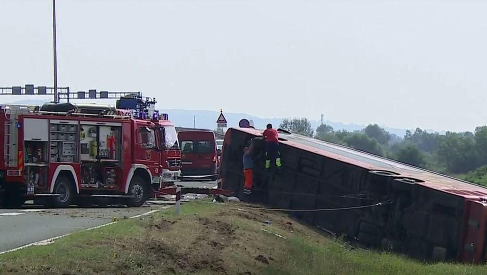 Autobus u prometnoj nesreći