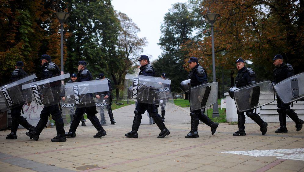 Policija u Beogradu, arhiva (Foto: AFP)