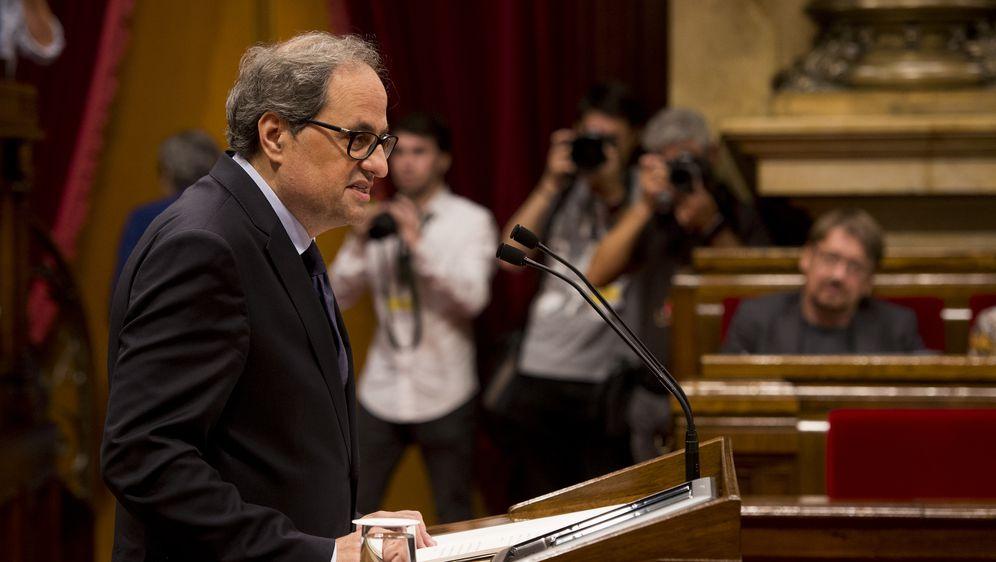 Quim Torra (Foto: AFP)