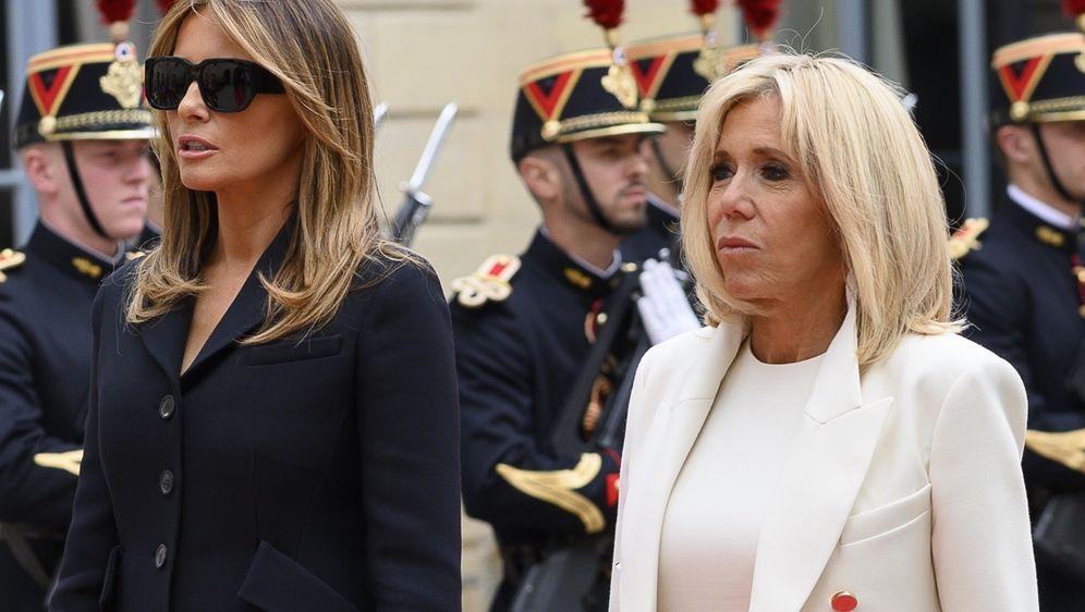 Melania Trump i Brigitte Macron na obilježavanju 75. godišnjice Dana D