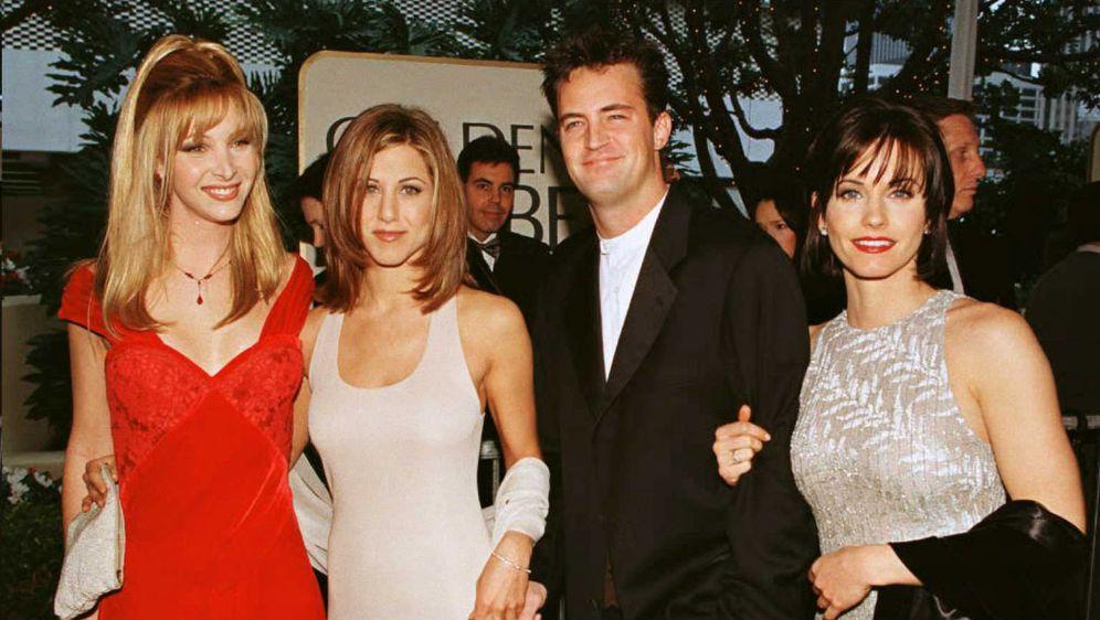 Courteney Cox, Jennifer Aniston i Lisa Kudrow (Foto: AFP)