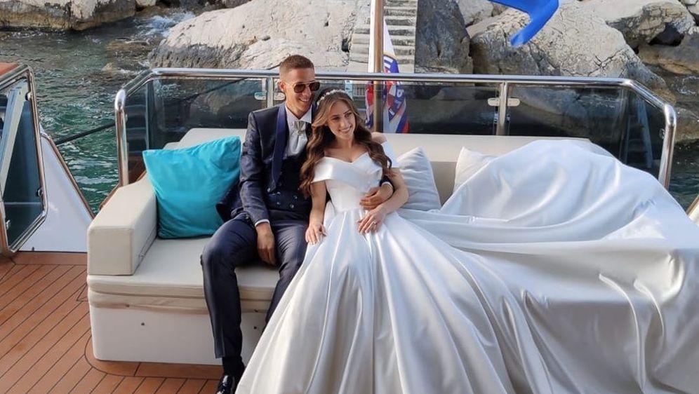 Mario Pašalić i njegova Marija (Foto: Instagram)
