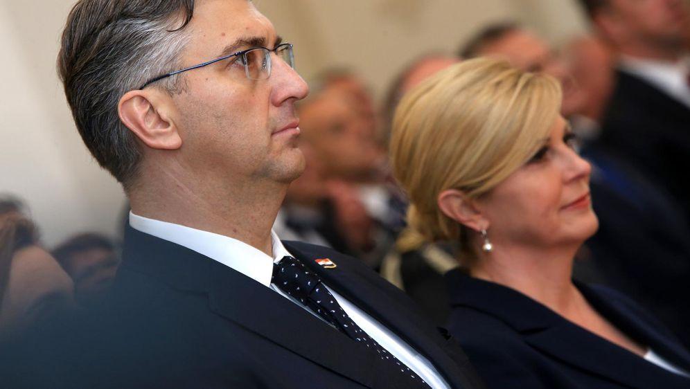 Andrej Plenković i Kolinda Grabar-Kitarović (Foto: Davor Javorovic/PIXSELL)