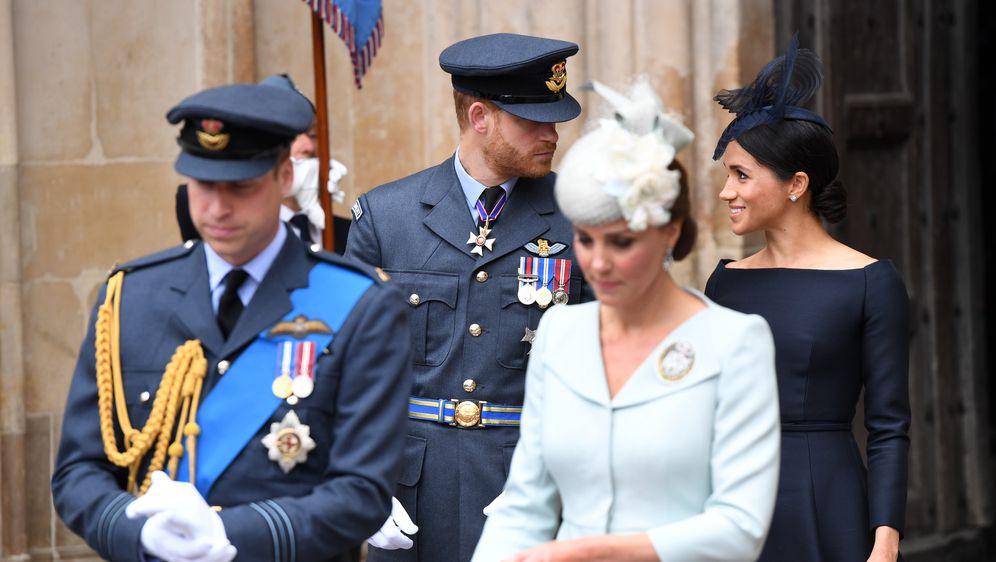 Meghan Markle, princ Harry, princ William i Kate Middleton (Foto: AFP)
