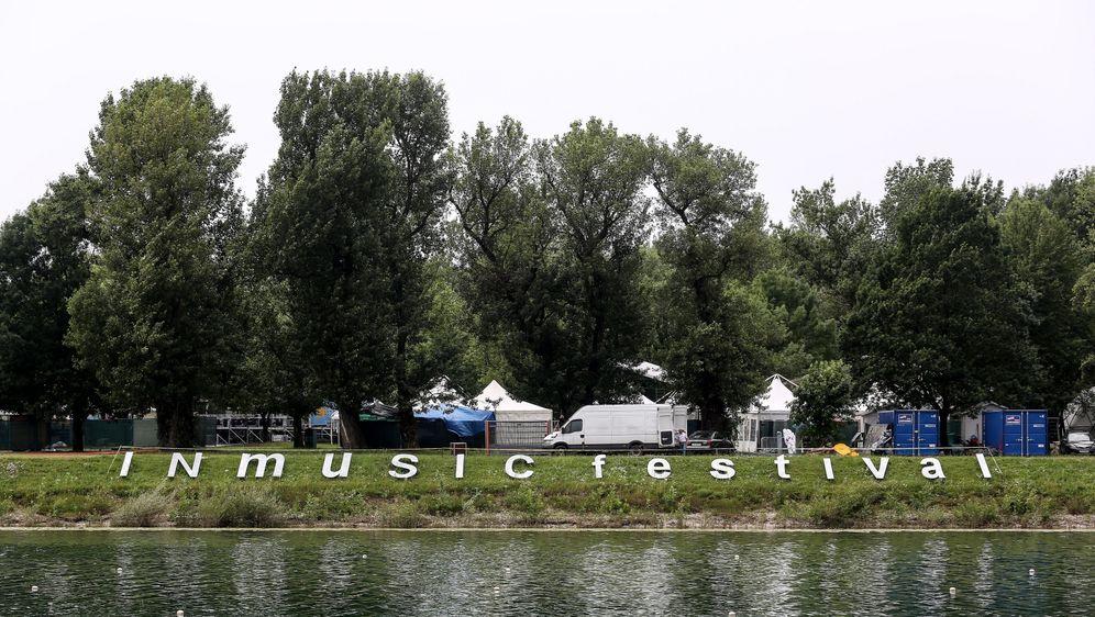 Sve je spremno za INmusic festival (Foto: Marin Tironi/PIXSELL)