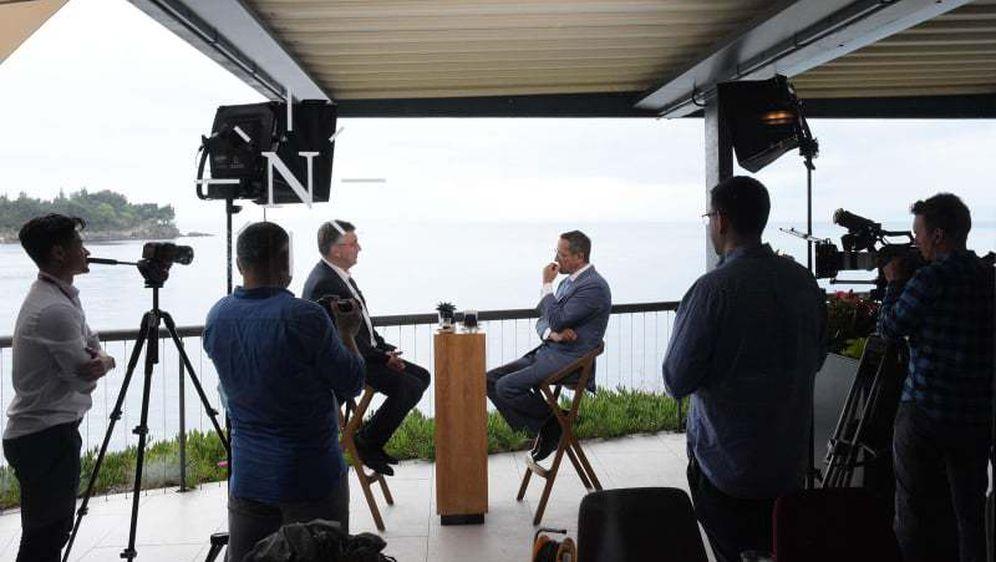 Andrej Plenković za CNN - 1