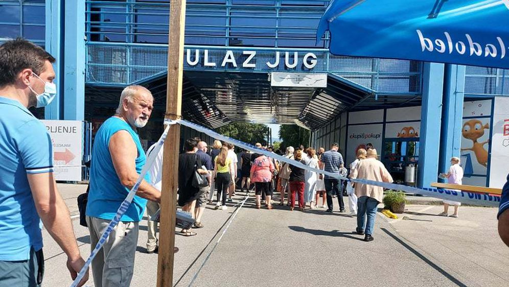 Cijepljenje na Velesajmu u Zagrebu - 2