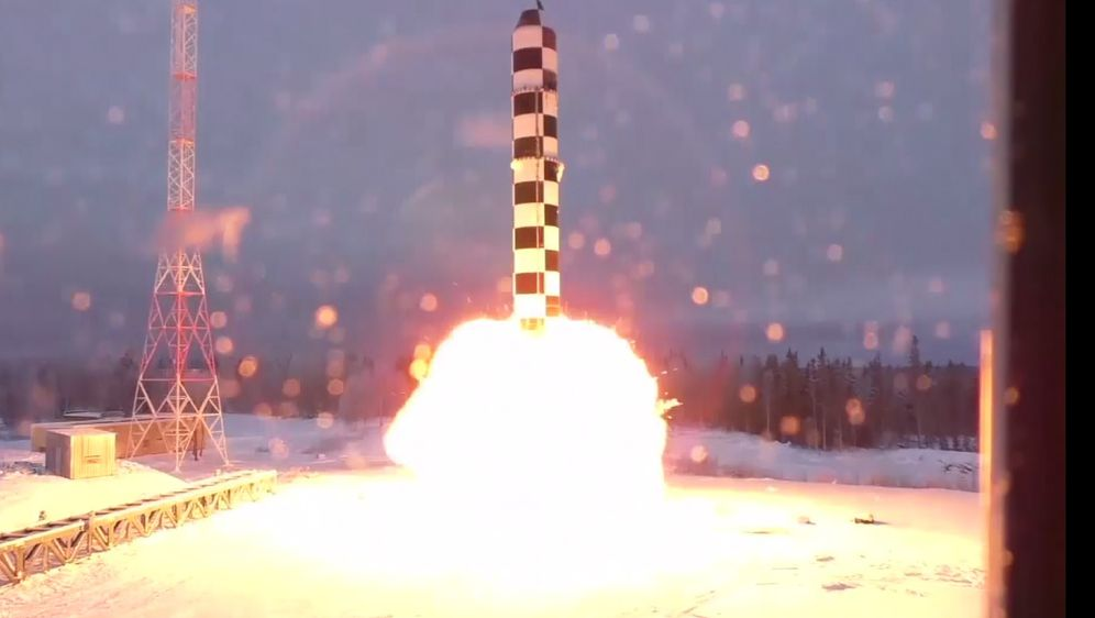 Novo rusko nuklearrno oružje (Foto: screenshot AP)