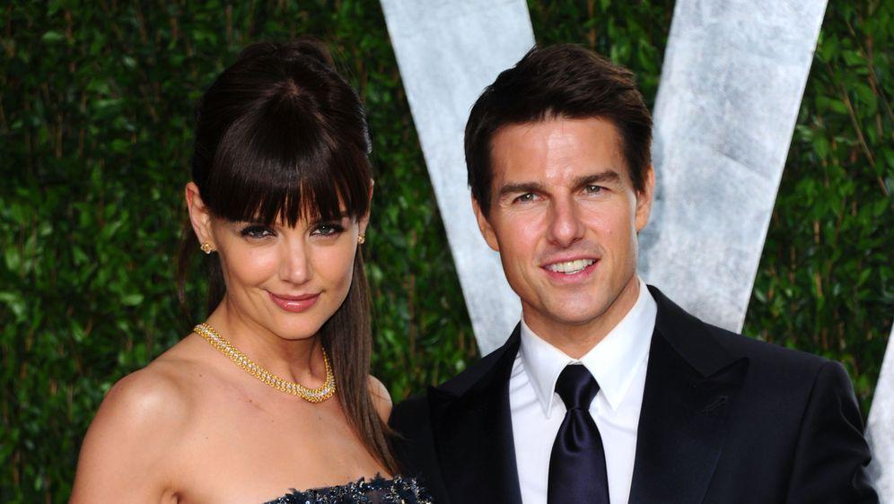 Tom Cruise i Katie Holmes (Foto: Getty)