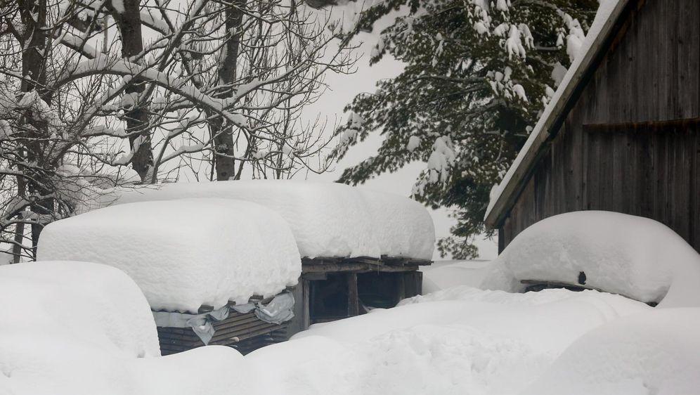 Snijeg u Ogulinu (Ilustracija: Luka Stanzl/PIXSELL)
