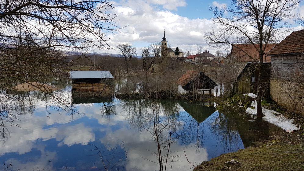 Poplava u Kosinju (Foto: Robert Labrović)