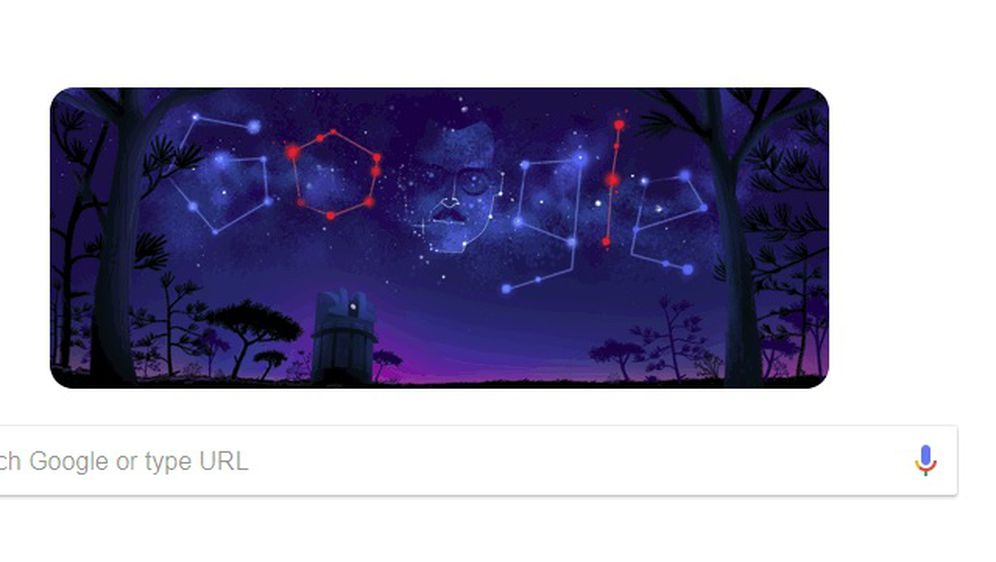 Google Doodle posvećen meksičkom astornomu (Foto: Google/screenshot)