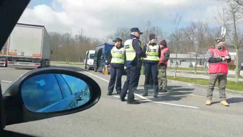 Policija na odmorištu Draganić, arhiva (Foto: Dnevnik.hr)
