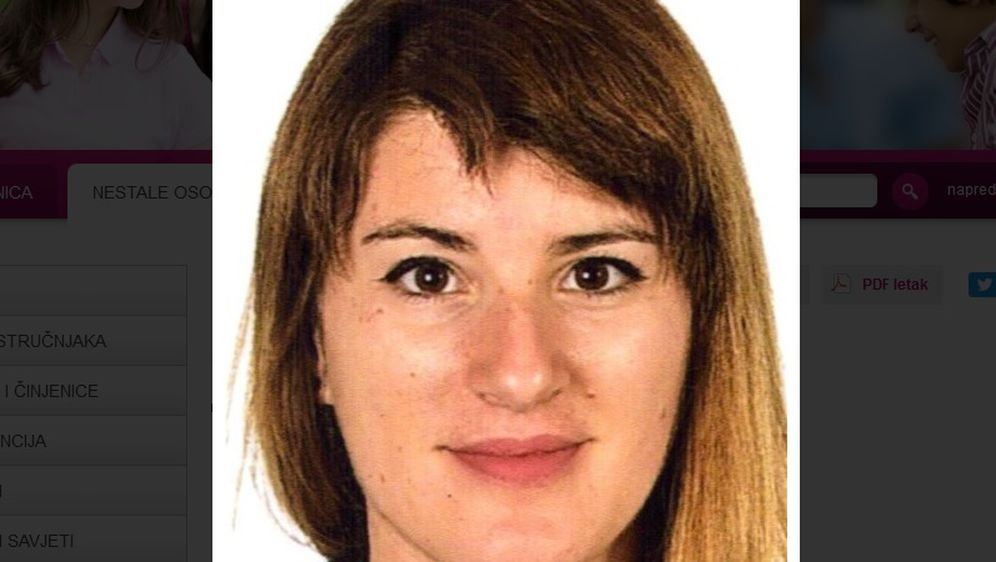 Martina Knežević (Foto: nestali.hr)