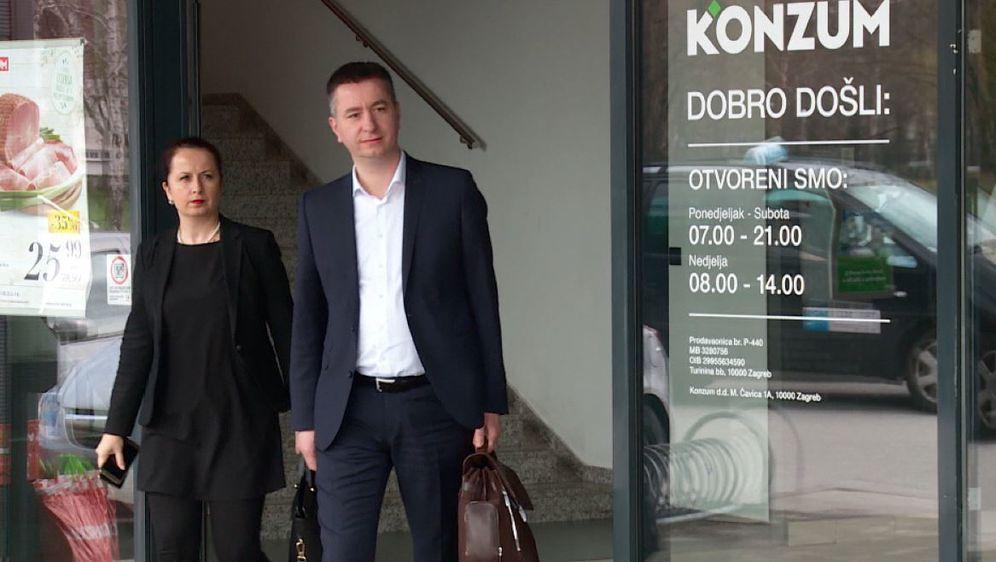 Povjerenik Fabris Peruško i njegova zamjenica Irena Weber (Foto: Dnevnik.hr)