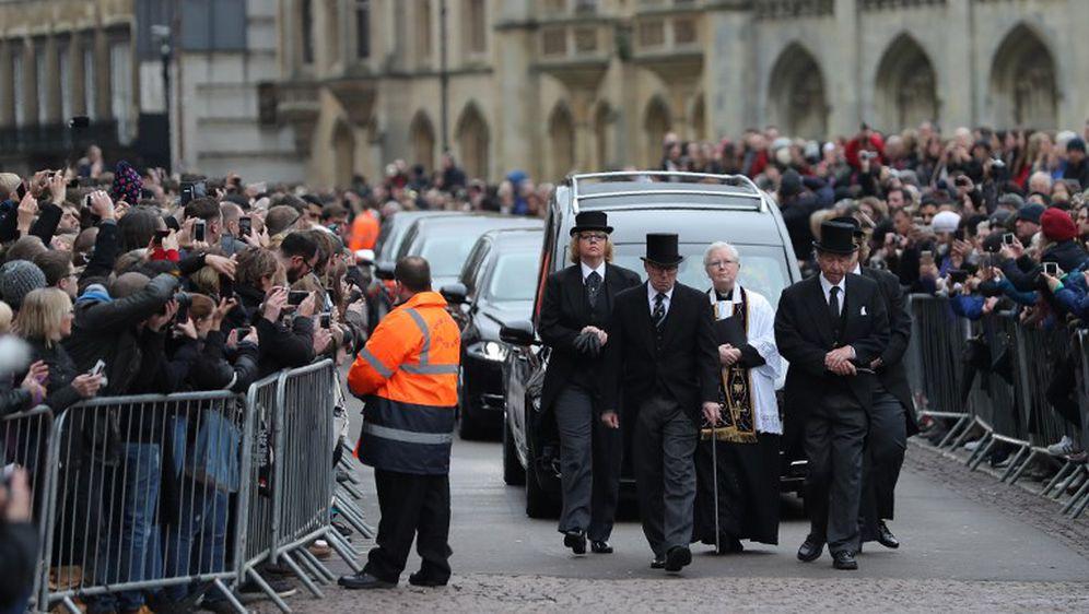 Pogreb Stephena Hawkinga (Foto: AFP)