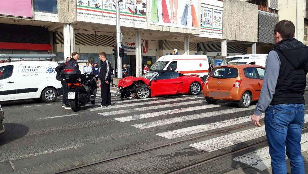 Prometna nesreća (Dnevnik.hr)