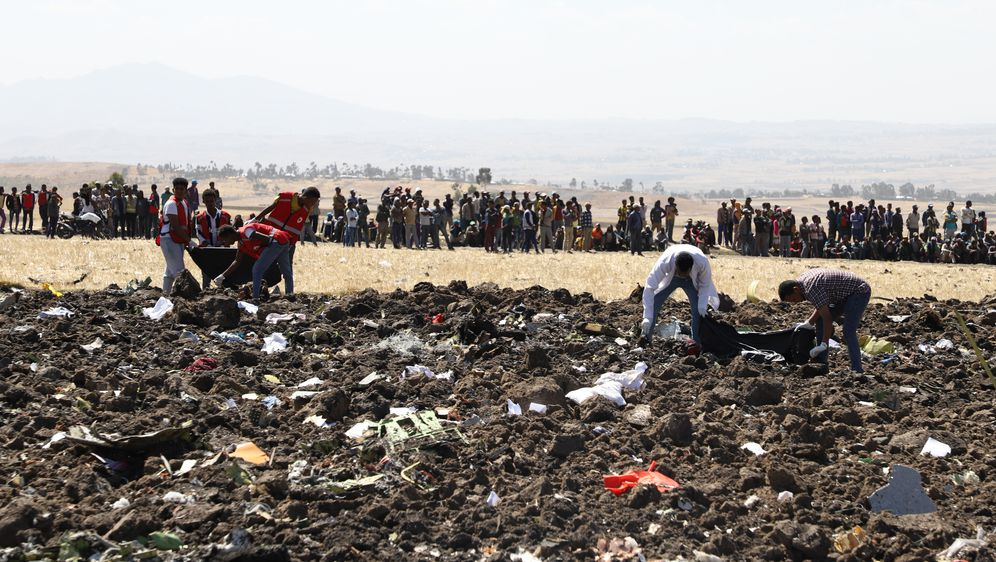 Pad zrakoplova u Etiopiji (Foto: Michael TEWELDE / AFP)