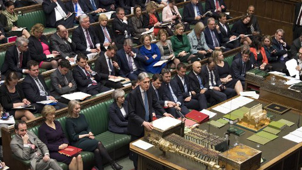 Glasanje u britanskom parlamentu (Foto: AFP)