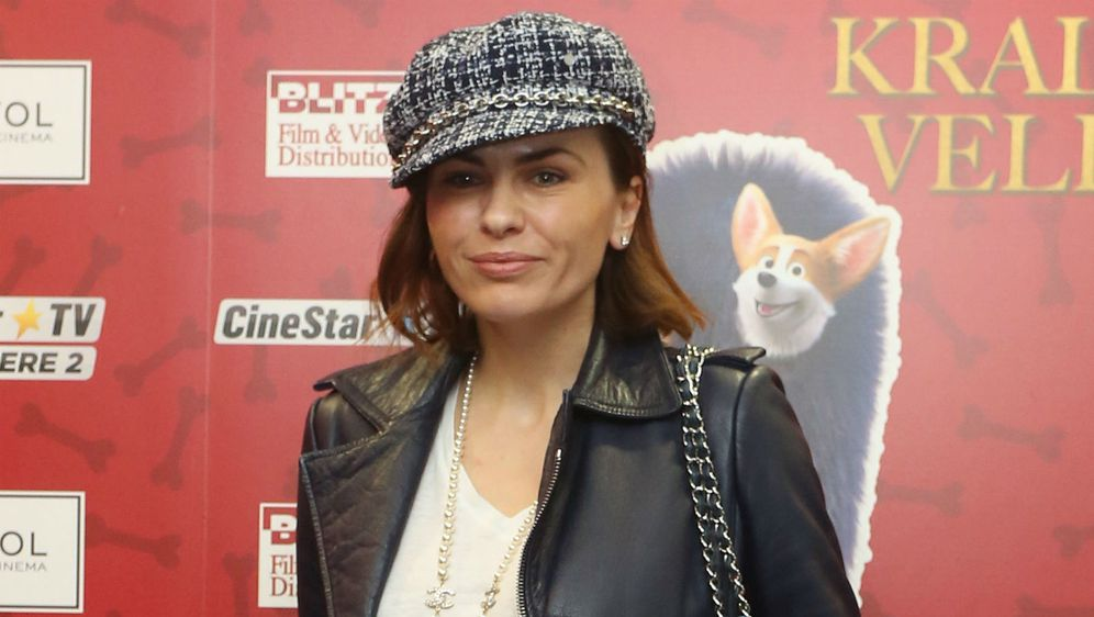 Branka Krstulović na premijeri filma 'Korgi: Kraljevski pas velikog srca'