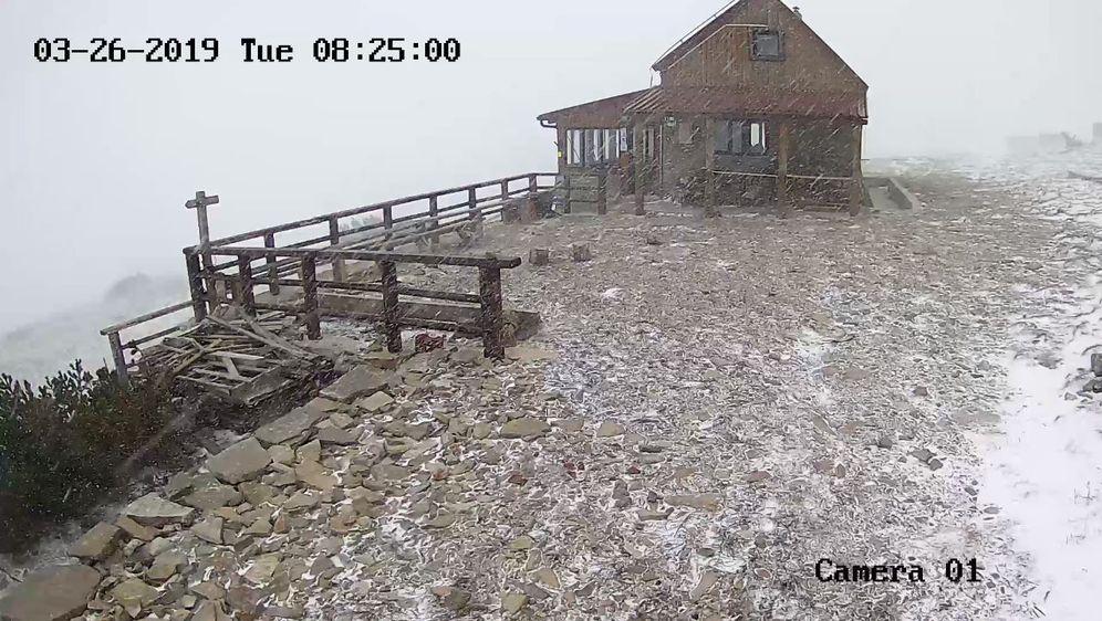 Snijeg na Dinari (Foto: Screenshot)