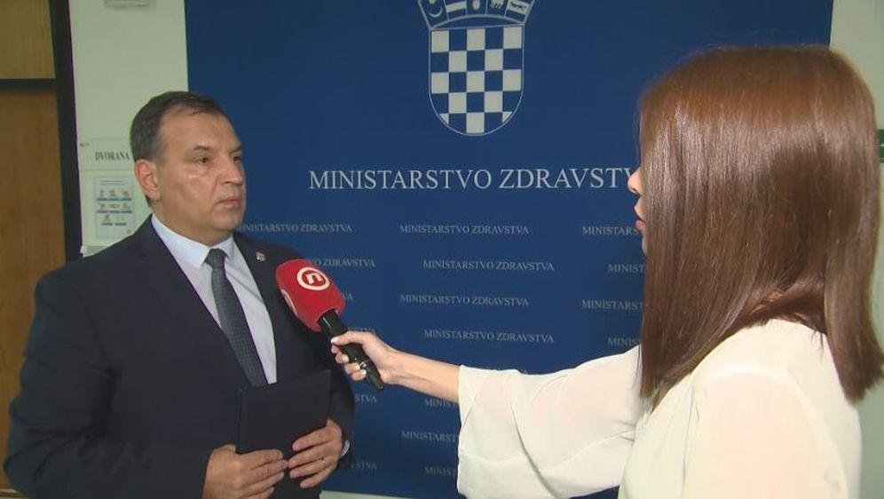 MInistar zdravstva Vili Beroš i Valentina Baus