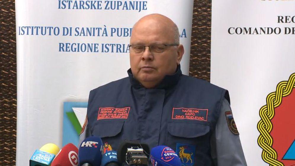 Dino Kozlevac, načelnik Stožera civilne zaštite Istarske županije