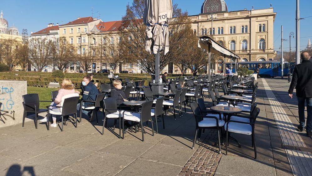 Kafići, Zagreb