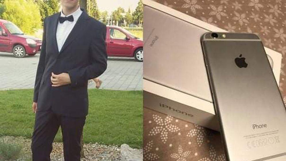 Maturalno odijelo i mobitel