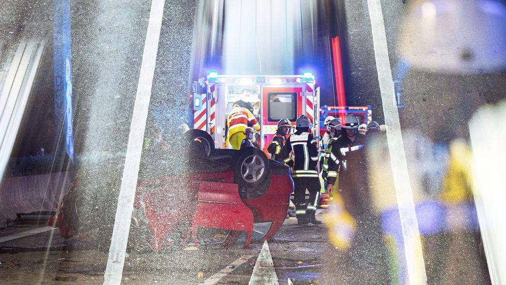 Prometna nesreća, ilustracija