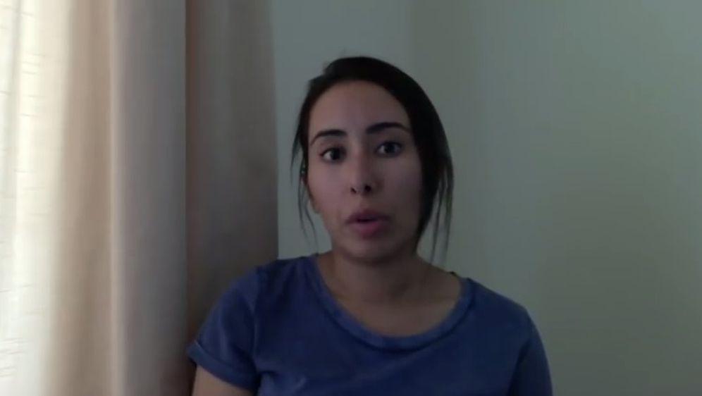 Latifa Al Maktoum (Screenshot You Tube)
