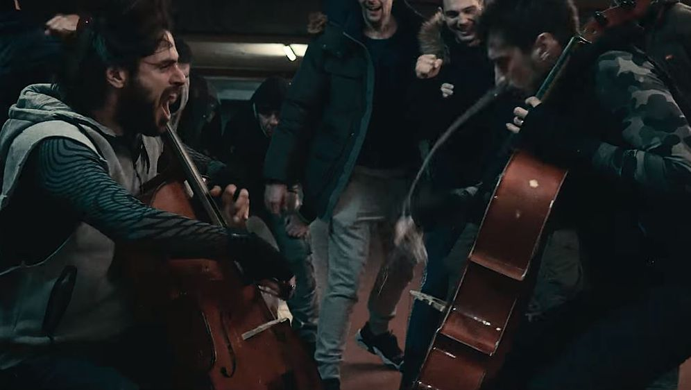 Novi spot 2CELLOS (FOTO: Screenshot/Youtube)