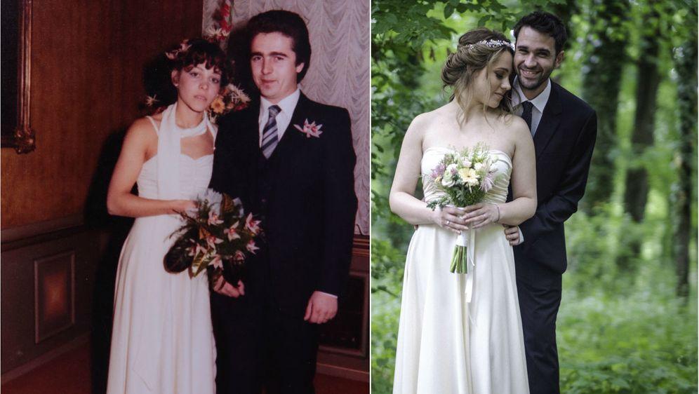Sanjini roditelji oženili su se 1980. godine, a ona ove godine