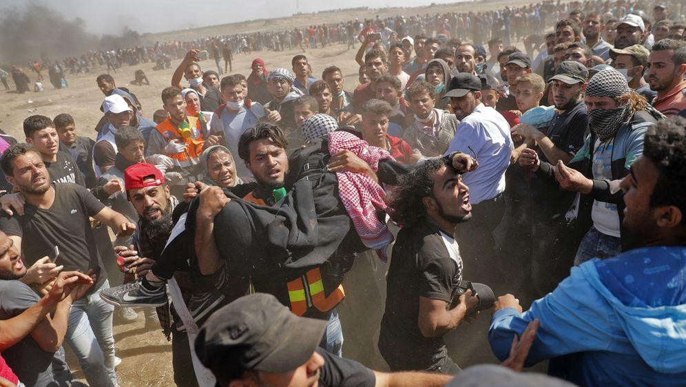 Nasilje u Pojasu Gaze nakon otvaranja američkog veleposlanstva u Jeruzalemu (Foto: AFP)
