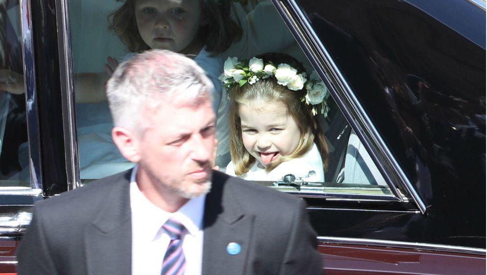 Princeza Charlotte na vjenčanju Meghan Markle i princa Harryja