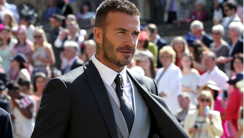 David Beckham na vjenčanju Meghan Markle i princa Harryja