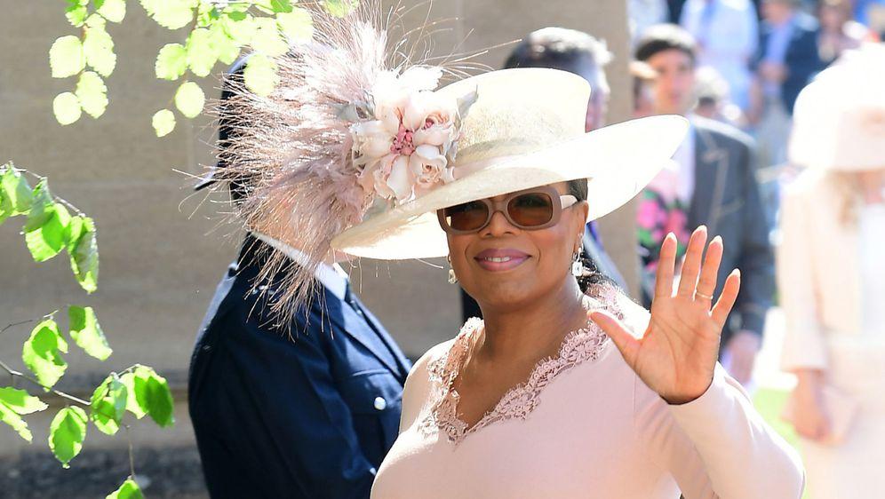 Oprah Winfrey na kraljevskom vjenčanju