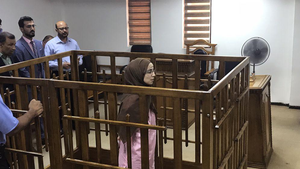 Djamila Boutoutao na suđenju (Foto: AFP)