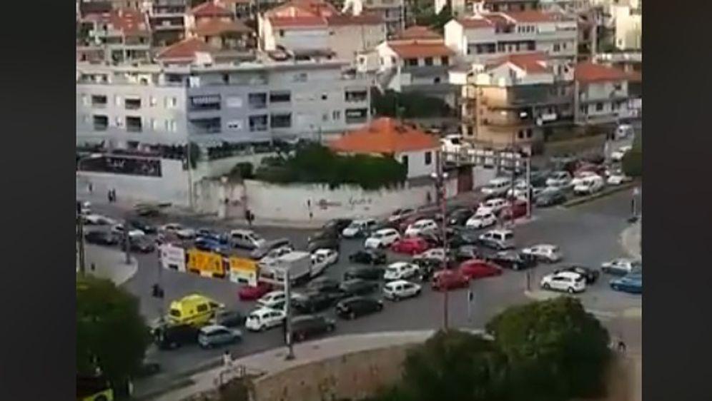 Kaos u Splitu zbog nestanka struje (Screenshot Facebook)