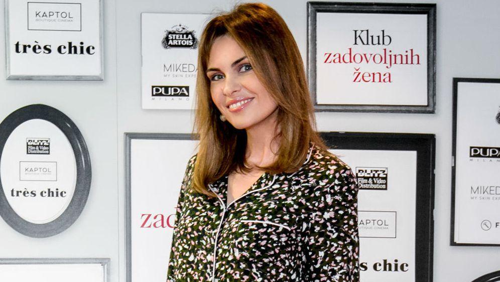 Branka Krsulović u kombinaciji za večernji izlazak