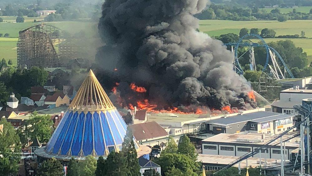 Požar u Europa-Parku (Foto: AFP)