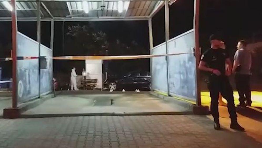 Mafijaški obračun u Beogradu (Screenshot: Blic.rs)