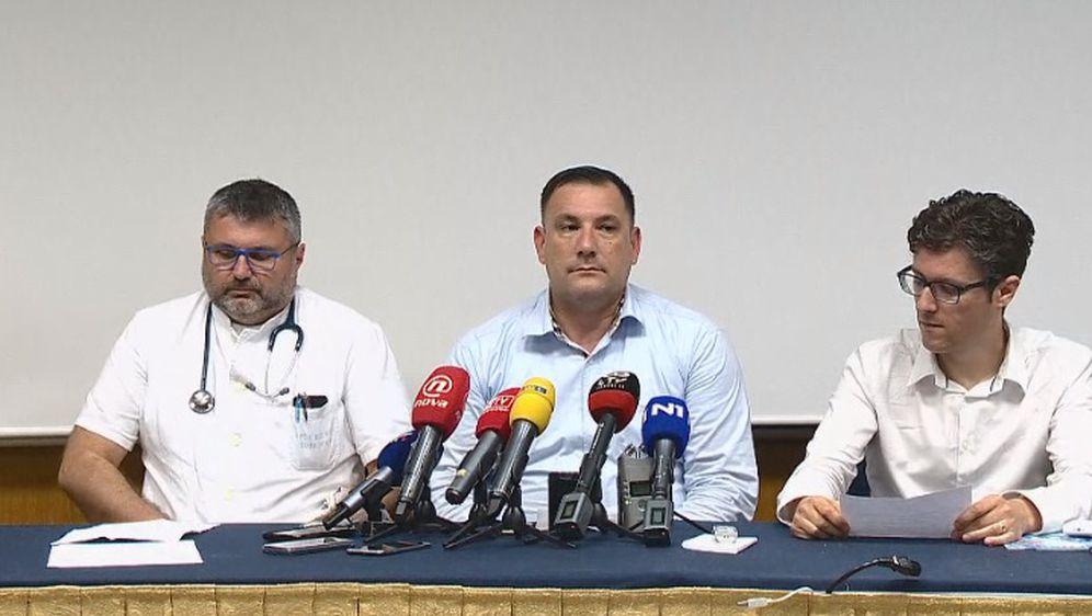Izvanredna konferencija za medije nakon potvrde zaraze ospicama u Dubrovniku (Foto: Dnevnik.hr)