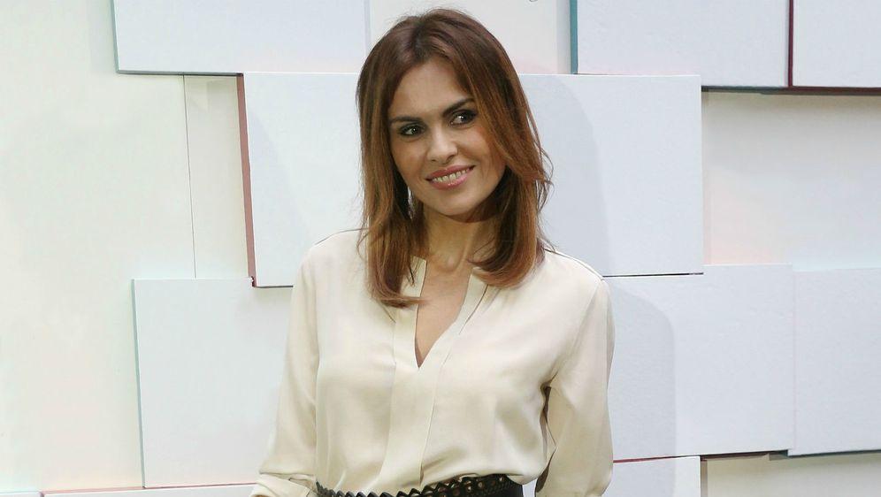 Branka Krstulović na modnoj reviji Aleksandre Dojčinović