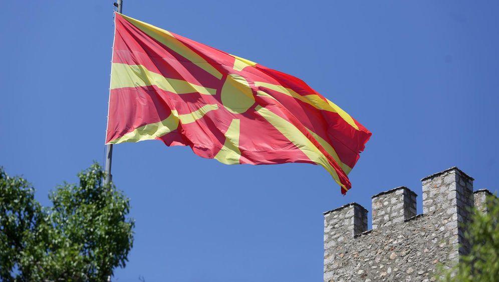 Ilustracija, makedonska zastava (Foto: Luka Stanzl/PIXSELL)