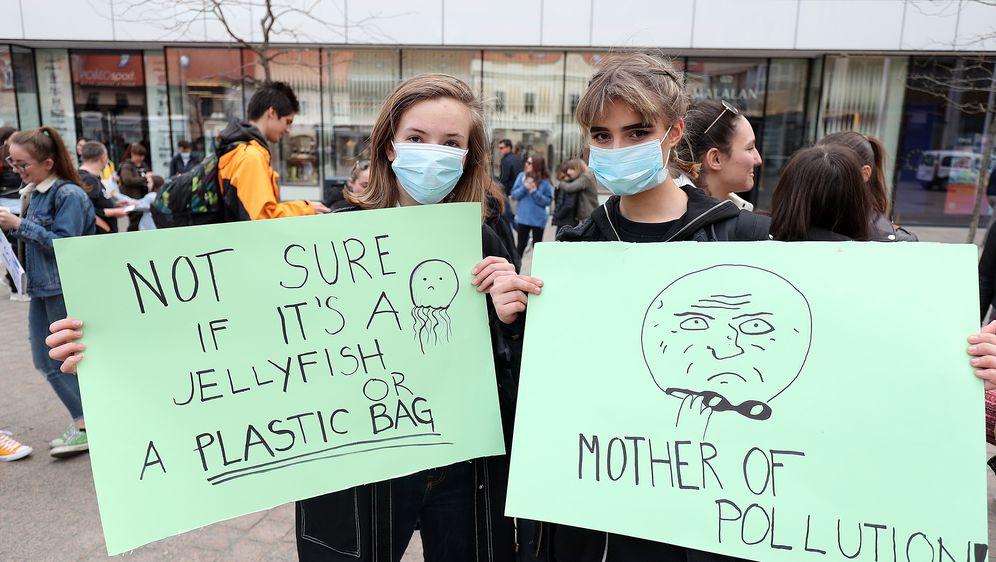 Prosvjed učenika u ožujku (Foto: Pixsell,Goran Stanzl)
