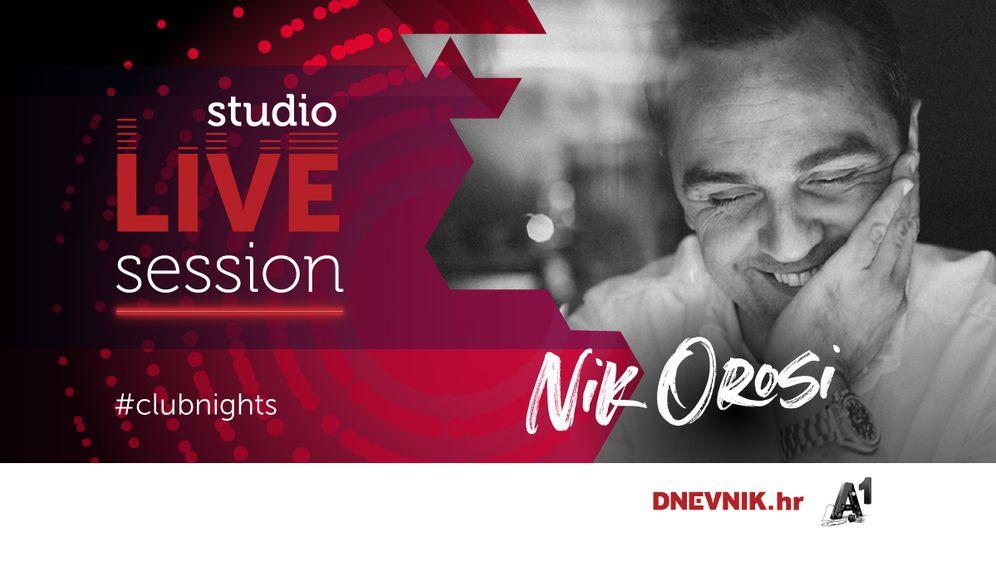 Nik Orosi u Studio LIVE Sessionu