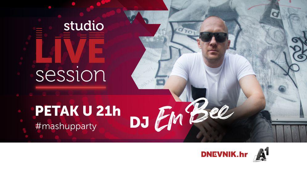 DJ Em Bee zatvara Mash up party time u Studio Live Session-u koji vam donosimo u suradnji s A1