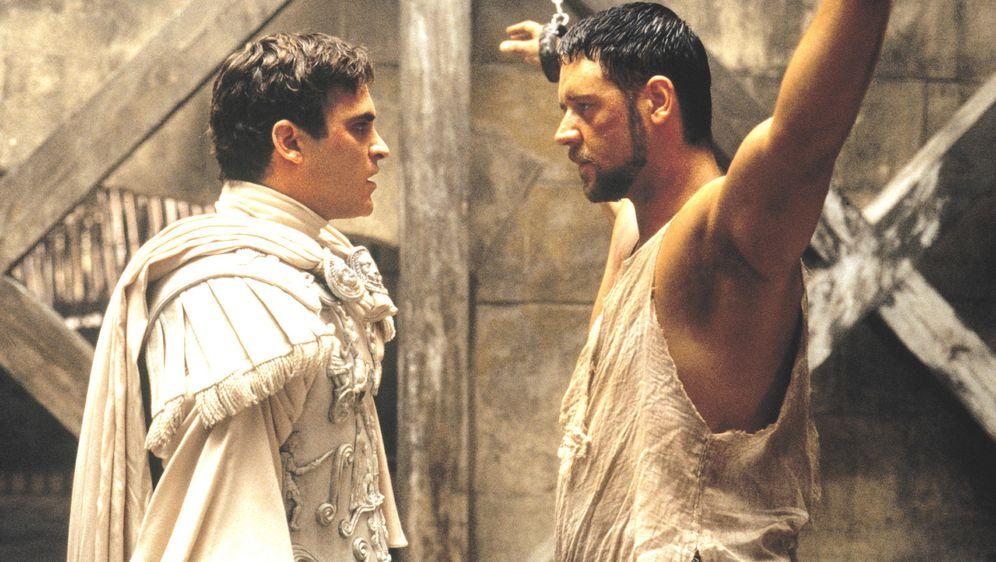 Russell Crowe i Joaquin Phoenix u filmu su glumili suparnike