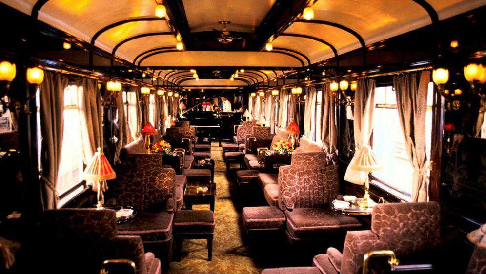 Unutrašnjost Orient Expressa
